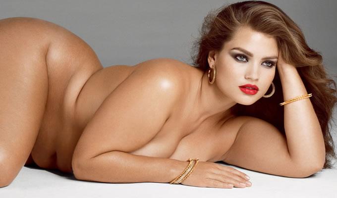 Полные голые модели фото